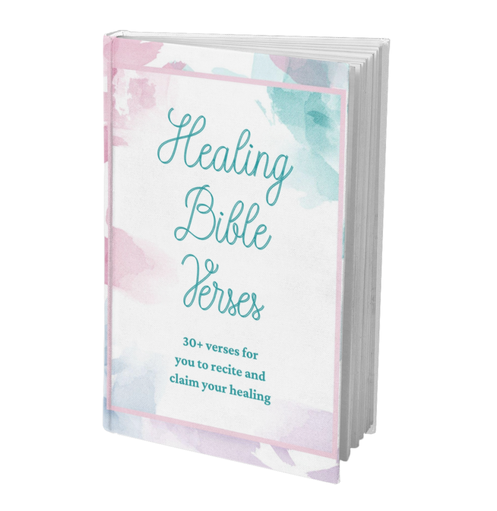 Healing Bible Verses book cover
